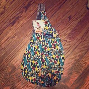RARE Kavu - Woodland Art Rope Bag